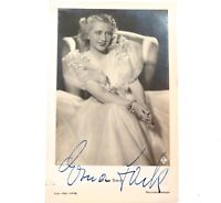 .c1930s.GERMAN OPERA COLORATURA SOPRANO ERNA SACK HANDSIGNED REAL PHOTO POSTCARD