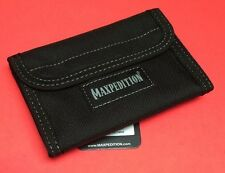 Maxpedition Spartan Wallet Teflon Fabric Water & Abrasion Resistant Nylon Black