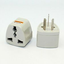 Portable UK/US/EU/AU to AU 3 PIN Power Socket Plug Adapter Travel Converter