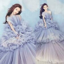 New Ruffle Tiers Tutu Wedding Dress Prom Pageant Ball Gown Photography Dresses
