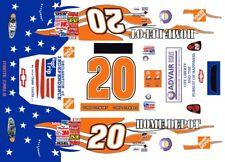 #20 Tony Stewart Patriotic 2003 Daytona 1/18th Scale Waterslide Decals