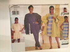 Vogue Designer Sewing Pattern 2521 size 12 14 16  Loose Dress Jacket Trousers