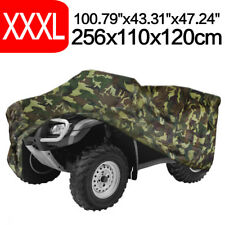 XXXL 190T Polyester Quad Bike ATV Car Cover Rain Weather Resistant Protector
