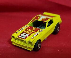 1969 Hot Wheels Show Hoss Mustang II 1969 Original Funny Car Yellow Blackwall