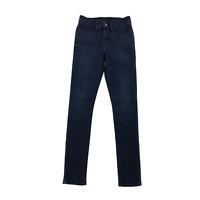 Levi's Womens Dark Wash Jeans Pants Denim Stretch Size 27 Skinny Mid Rise
