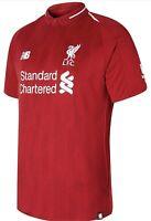New Balance Liverpool fc 18/19 Home Football Shirt Large Mens MT830000