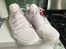 Nike Zoom KD10~Aunt Pearl~Lt Pink~Mens 8.5~RARE~Mint~Tried On Only