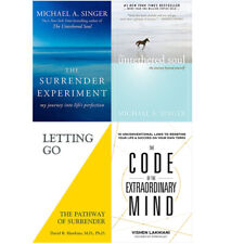 The Code Of The Extraordinary Mind,Surrender Experiment 4 Books Colllection Set