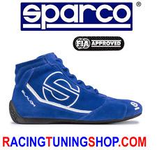 SCARPE SPARCO OMOLOGATE FIA SLALOM RB3 TG 44 - RACING SHOES FIA BOOTS EU 44