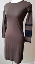 MOSCHINO VINTAGE Brown Long sleeve Knee Length Dress