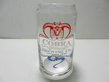 Cobra Brewing Company Can Shaped 16 oz Beer Glass Lewisville Texas Craft Brewery