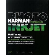 Harman Hi-matte Fiber Base MP Professional Fine Art Inkjet Paper 310gsm 12 Mil 8