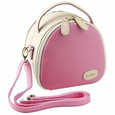 NEW Fujifilm Mini Zipper Carry Case BAG Pink Instax 8 25 Camera Leather Fuji