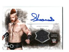 WWE Sheamus 2015 Topps Undisputed Autograph Event Used Shirt Relic Card