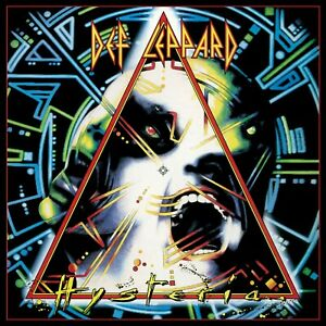 DEF LEPPARD Hysteria BANNER HUGE 4X4 Ft Fabric Poster Tapestry Flag album art