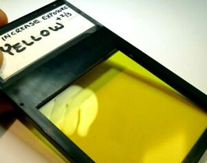"Cokin A 001 Yellow  Lens Filter drop in square 3X3"" for Lindahl specialties"