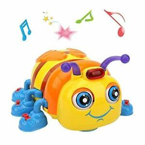 Musical Baby Toy for 1, 2, 3 years old Toddlers, Crawling and Singing Bee Toys