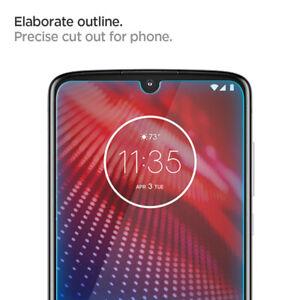 Motorola MotoZ4 Tempered Glass Screen Protector   Spigen®[Glass]