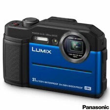 Panasonic Lumix DC-FT7EB-A 4K Waterproof Tough Action Camera in Blue