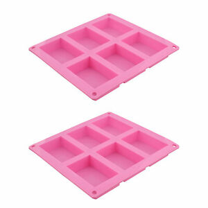 7Penn Soap Molds for Soap Making Supplies - Silicone Mold Soap Bar Tray 12 Bars