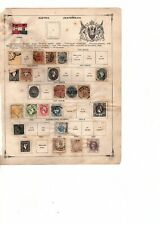 Austrian stamp collection see scan for faults  1850-1867 (mb10