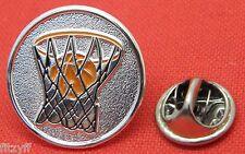 Basketball Lapel Hat Cap Tie Pin Badge B-ball Hoops Brooch