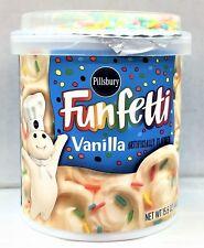 Pillsbury Funfetti Vanilla Frosting 15.6 oz