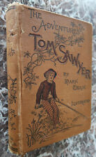 The Adventures of Tom Sawyer, by Mark Twain, 1892, Very Early Second Edition