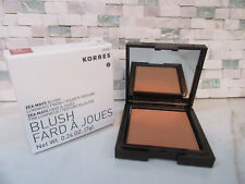 KORRES ZEA MAYS BLUSH LUMINOUS FINISH 42 APRICOT .24 OZ BOXED