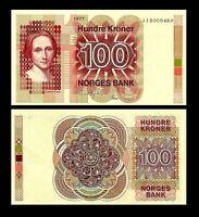 Noruega -  2x 100 Kroner - Edición 1977 - 1982  Reproducción 02