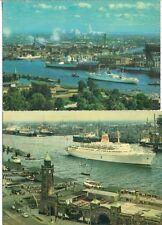 S1736d  HAMBURG Hafen Werften Dock 6 Blohm & Voss Stülcken Schiffe 1967+79