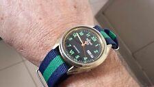 Orologio Vintage Seiko 5 Automatico 6309 NATO Daydate Mm 32 OCCASIONE!!!!!