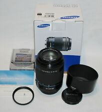 (Send on 02/09) Samsung NX 50-200mm F4-5.6 ED OIS Zoom Lens (Black)