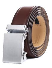 Tonywell Belts for Men Leather Ratchet Belt Removable Buckle New AU