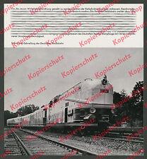 Reichsbahn Stromlinien-Dampflok 61 001 Henschel-Wegmann Schnellzug Eisenbahn ´36