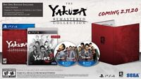Yakuza Remastered Collection Day 1 Edition (PlayStation 4, PS4) Brand New Sealed