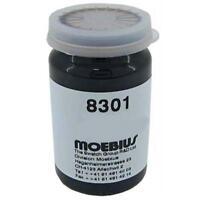 Graisse Moebius 8301 3 ml pour horloges, montres - Grease Moebius 8301 graphite