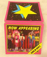 Vintage BARBIE Concert Sign / Stand / Marquee; 1980s; Barbie Doll; Rocker