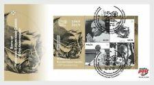 MALTA 2019 Mahatma Gandhi India Indian theme Miniature sheet FDC MNH