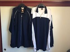 Rock Italian Clothing Designer Zip-Up Lightweight Jacket & Pull Over Shirt 4X-L
