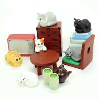 Blind Box Miniature Dollhouse Fairy Garden Accessories Cat 1 Random Figure