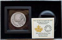 2017 Canada $20 Ancient Canada Ornithomimus Dinosaur fossils 1oz Silver Antiqued
