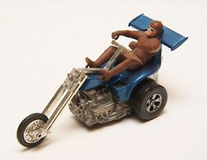 Vintage Original Mattel Redline era Chopcycles Blue Bruiser Cruiser - Untested
