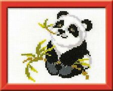 RIOLIS  HB061  Panda  Kit  broderie  point de croix  facile