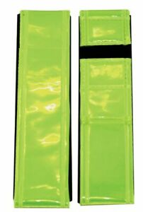 Pair of ETC Hi Viz Reflective Ankle / Arm Bands / Cycle / Running Trouser Clips
