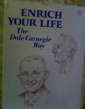 "book ENRICH YOUR LIFE ""The Dale Carnegie Way"" ARTHUR PELL Ph.D"