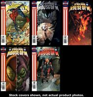 Spider-Man: House of M 1 2 3 4 5 Complete Set Run Lot 1-5 VF/NM