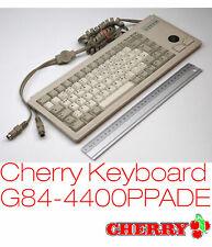 Mini Ps2 Keyboard + Trackball Cherry Ml4400 G84-4400ppade/01 Pos Server K8