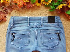 G-STAR Jeans MIDGE CODY SKINNY Gr. XS S 34 W 26 27 L32 only denim herrlicher Po