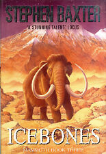 Icebones by Stephen Baxter -  Mammoth Book 3 - Signed First Edition - Gollancz